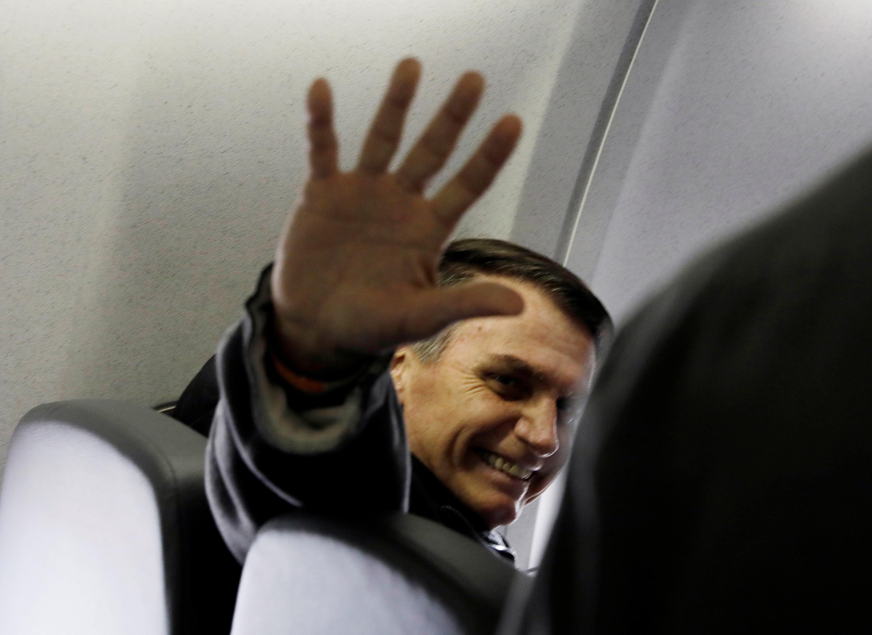 'Foram tempos difíceis', diz Bolsonaro em recuperação no