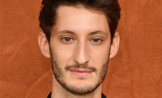 L'acteur français Pierre Niney à Rolland-Garros, en juin