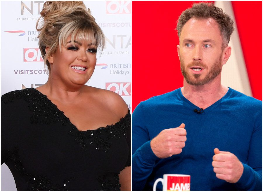 Dancing On Ice's James Jordan Reveals 'Big Old Bust Up' With Gemma