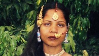 Asia Bibi, a Christian woman who spent eight years on death row in Pakistan