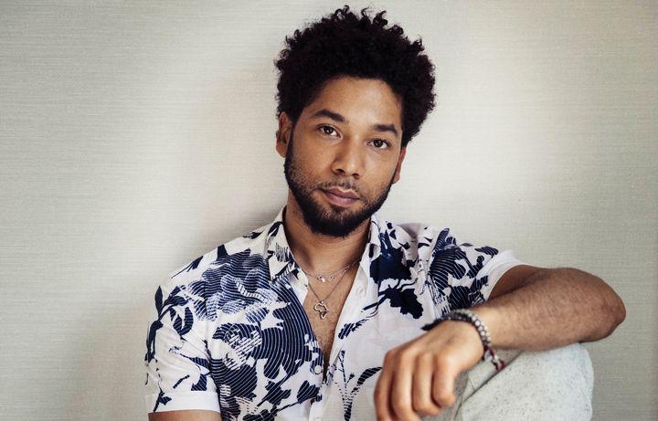 """Jussie Smollett of """"Empire"""" was attacked in Chicago on Tuesday morning."""
