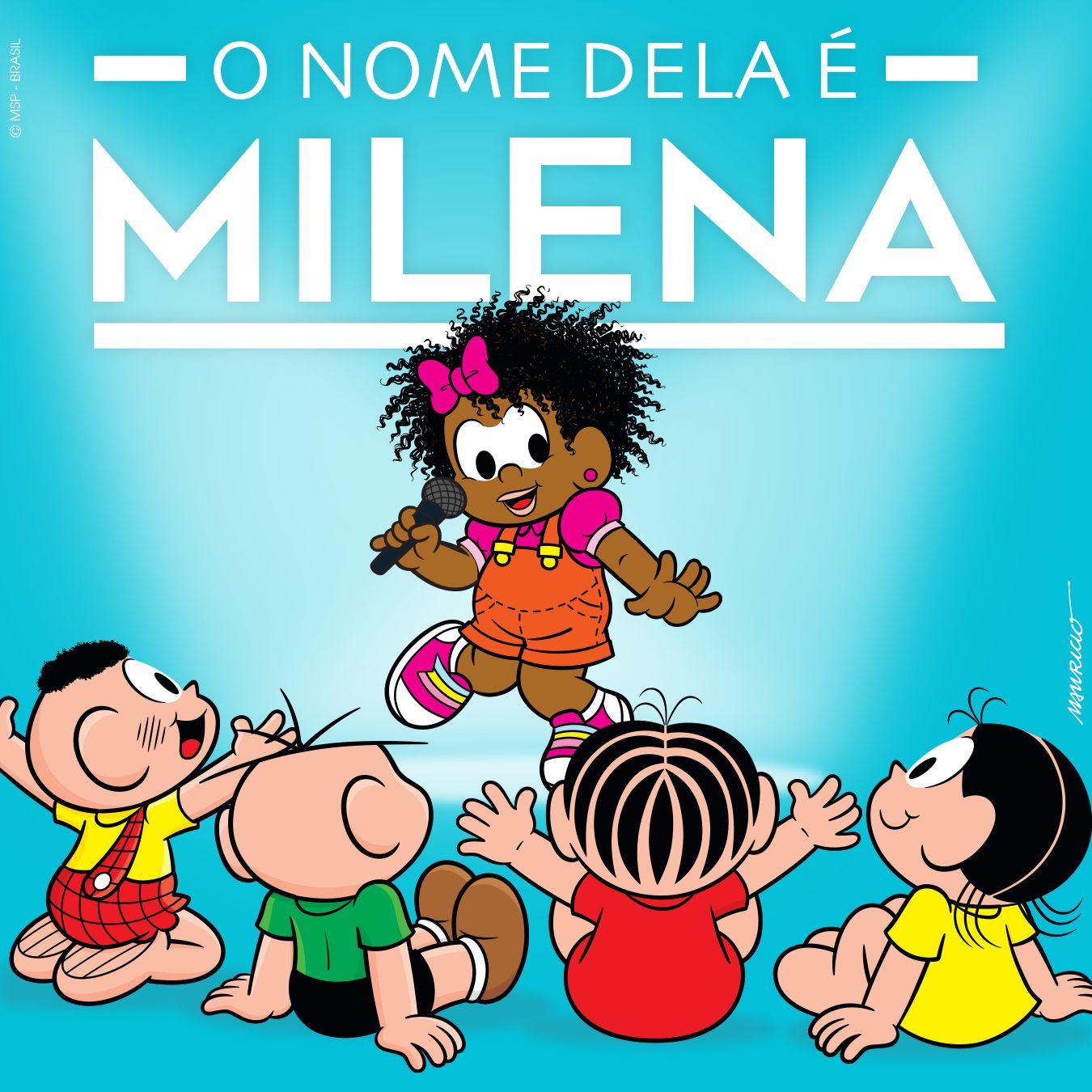 O nome dela é Milena: Conheça a 1ª garota negra da Turma da