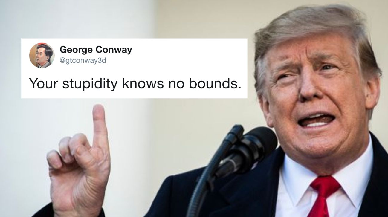 George Conway, the lawyer and husband of White House adviser Kellyanne Conway, is tangling with President Donald Trump on Twi