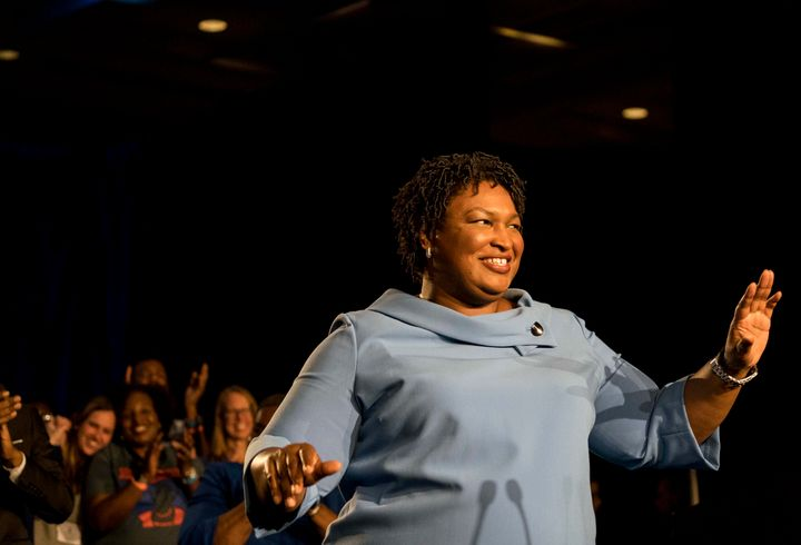 Stacey Abrams narrowly lost her bid for the Georgia governor's seat, but she's not disappearing from the party.