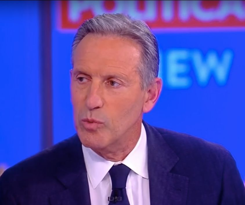 Howard Schultz on the View