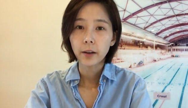 김나영이 유튜브 채널을 통해 직접 이혼을 발표했다