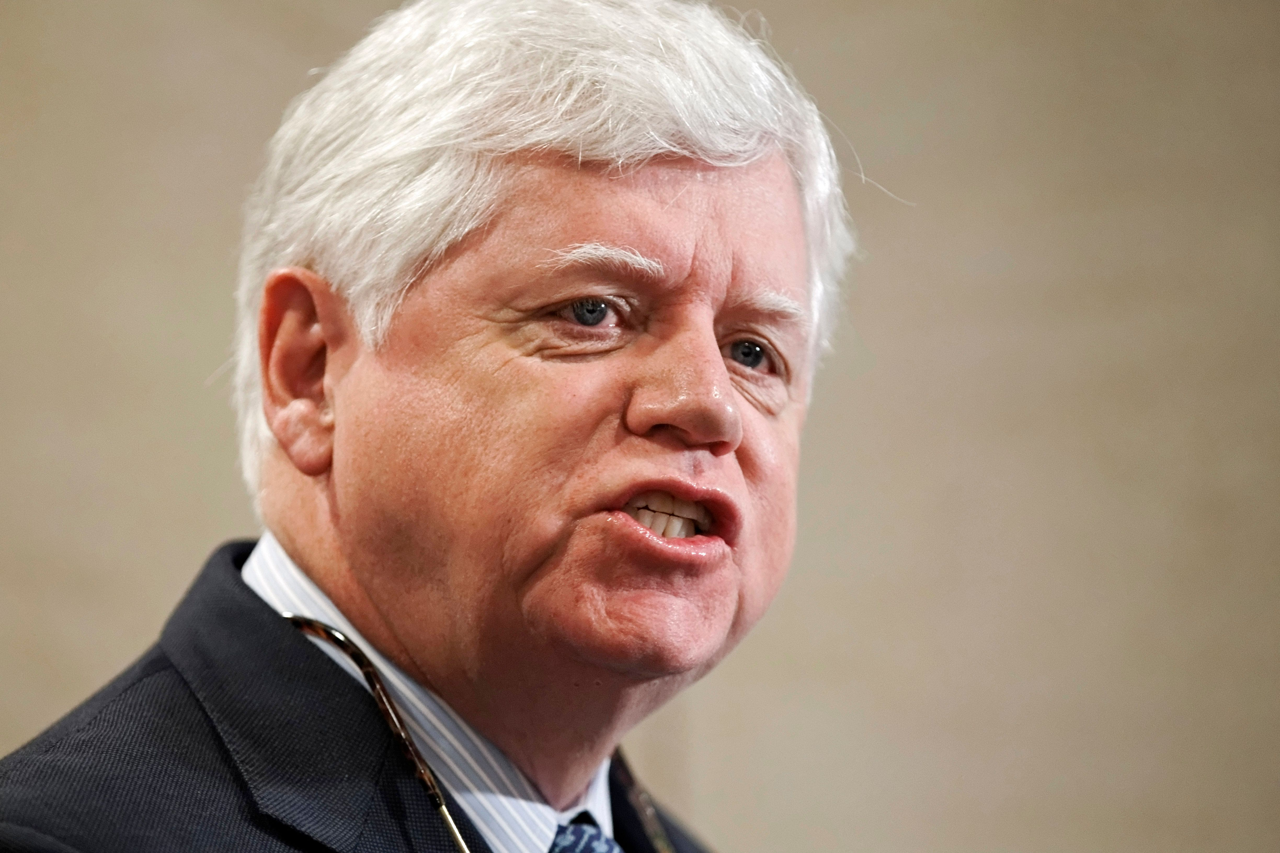 Rep. John Larson (D-Conn.) speaks on Capitol Hill in January 2012. He has recruited more than 200 co-sponsors for his Social