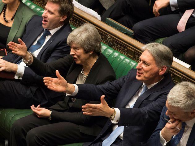 영국 하원이 메이 총리의 '브렉시트 재협상안'을