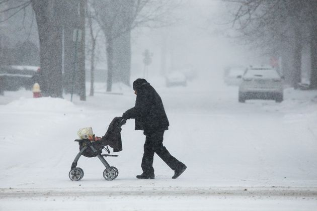 Polar Vortex Freezes U.S. Midwest With Snow, Dangerously Cold