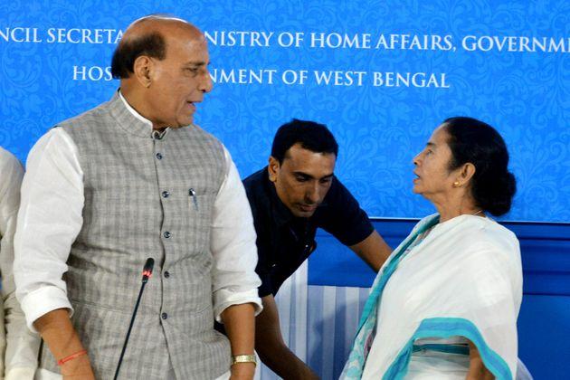 Rajnath Singh Speaks To Mamata Banerjee Over Violence At Amit Shah's