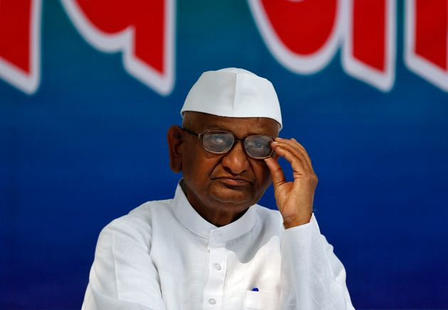 Anna Hazare Begins Hunger Strike Over