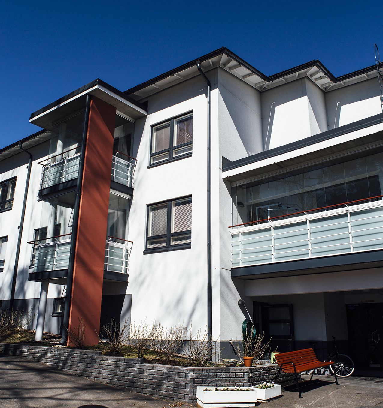 Väinölä, a supported housing unit in Espoo, Finland.