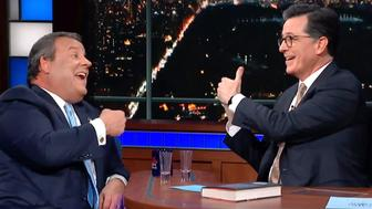 Stephen Colbert, Chris Christie