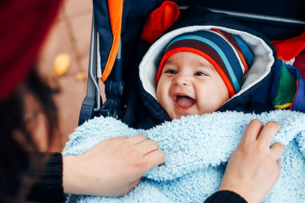 How To Keep Your Baby Warm – But Not Too Warm – During The Cold