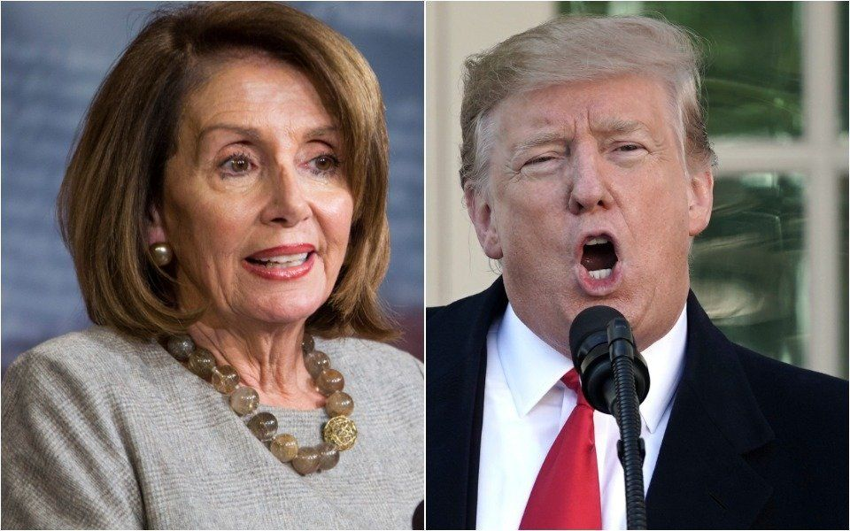 Trump Spent His Sunday Night Hate-Watching Nancy Pelosi's '60 Minutes' Interview