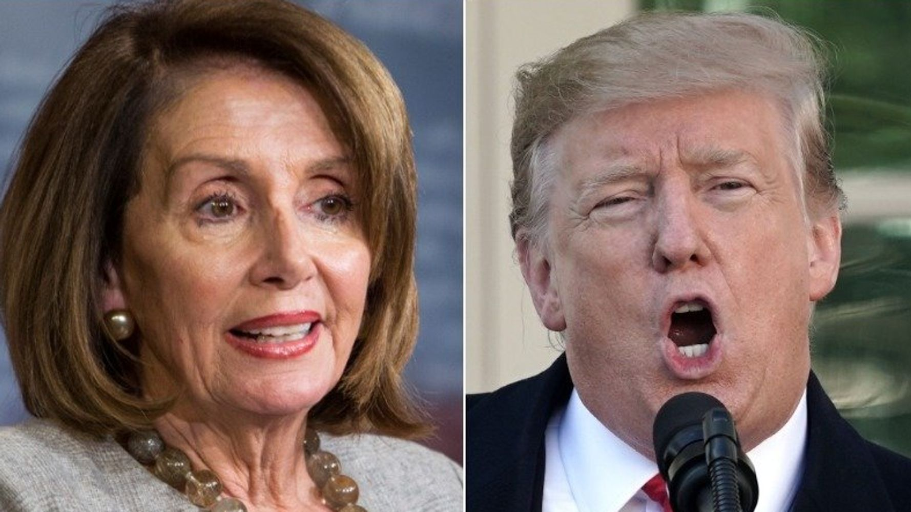 Westlake Legal Group 5c518c67260000d001faeffc Twitter Users Turn Trump's New Nickname For Nancy Pelosi Right Back At Him