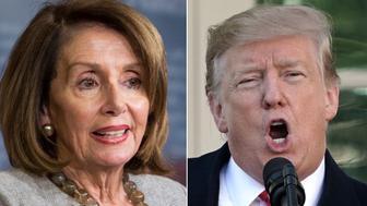 Nancy Pelosi and Trump