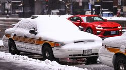 US Police 'Cancel' Crime As Polar Vortex Freezes The