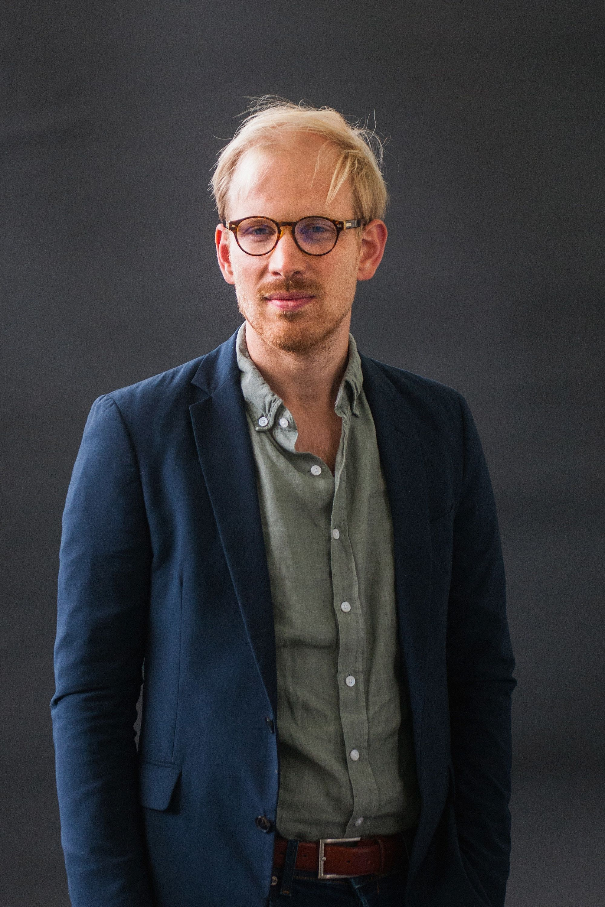EDINBURGH, SCOTLAND - AUGUST 12:  Rutger Bregman during the Edinburgh International Book Festival on August 12, 2017 in Edinburgh, Scotland.  (Photo by Simone Padovani/Awakening/Getty Images)
