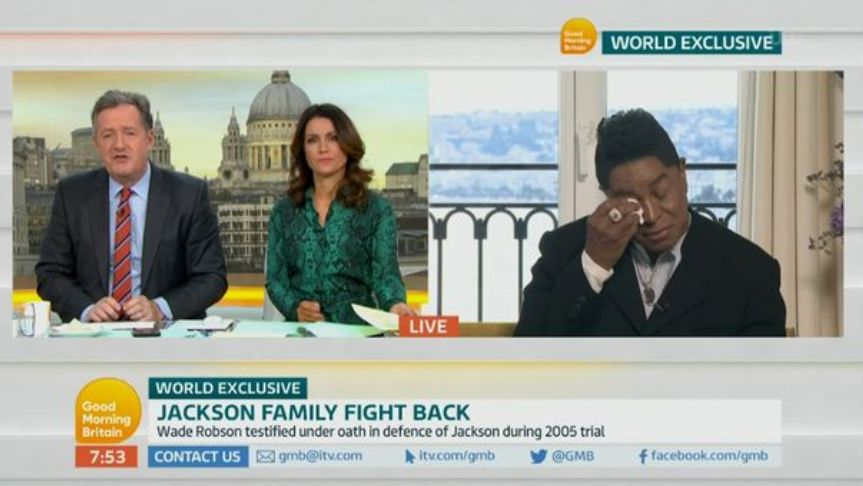 Michael Jackson's Brother Jermaine In Tears As He Blasts 'Nonsense' New