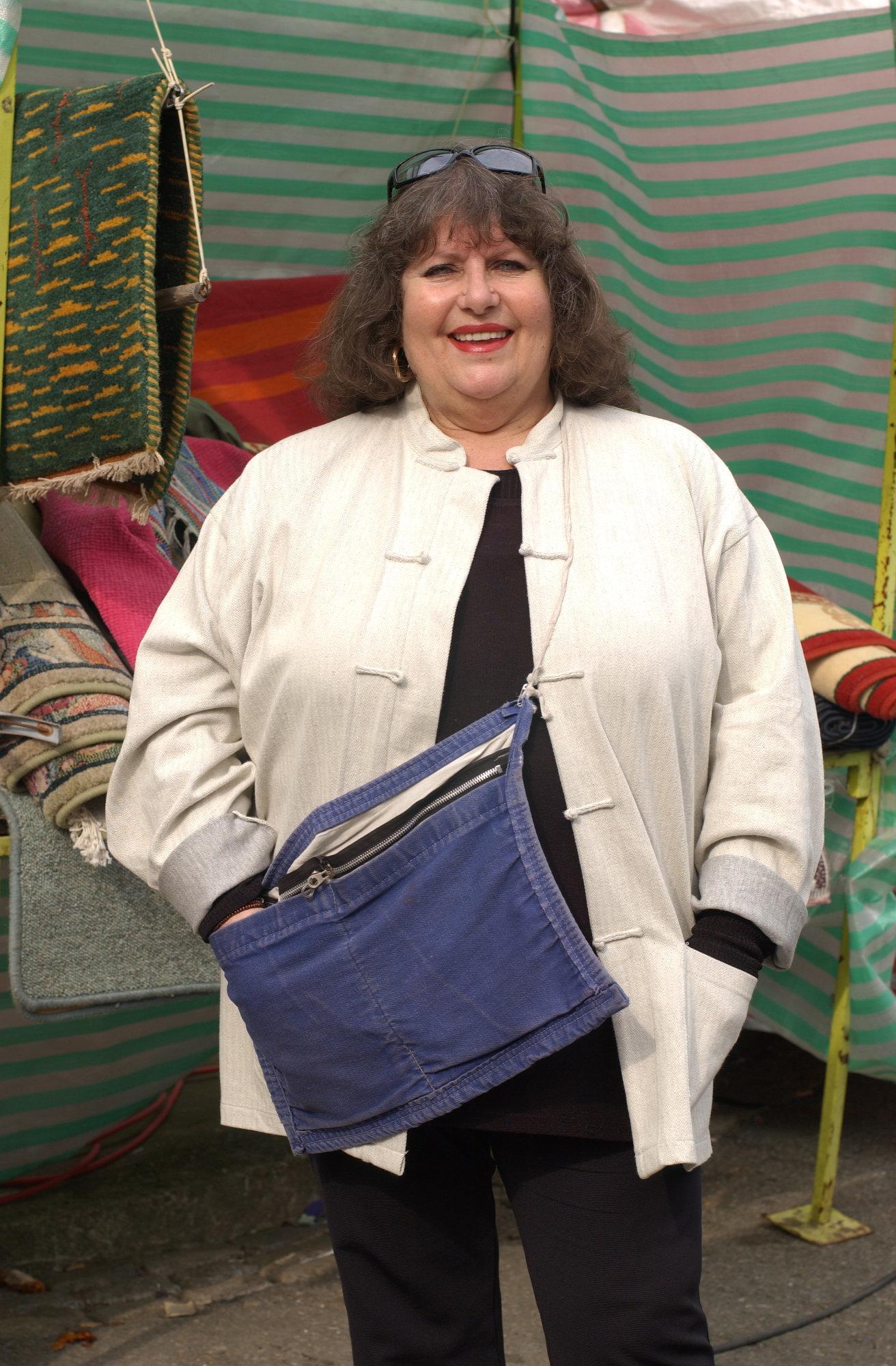 Martha played a market trader on EastEnders until