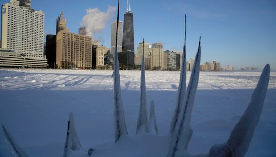 Polar Vortex Photos Show Bone-Chilling Conditions In