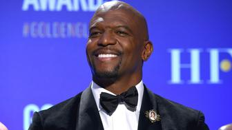 Terry Crews attends the nominations for the 76th Annual Golden Globe Awards at the Beverly Hilton hotel on Thursday, Dec. 6, 2018, in Beverly Hills, Calif. The 76th annual Golden Globe Awards will be held on Sunday, Jan. 6, 2019. (Photo by Chris Pizzello/Invision/AP).