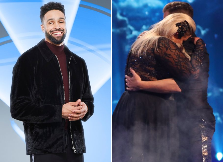 Dancing On Ice's Ashley Banjo On Gemma Collins' 'Scary' Fall: 'I Didn't Think She Was Getting