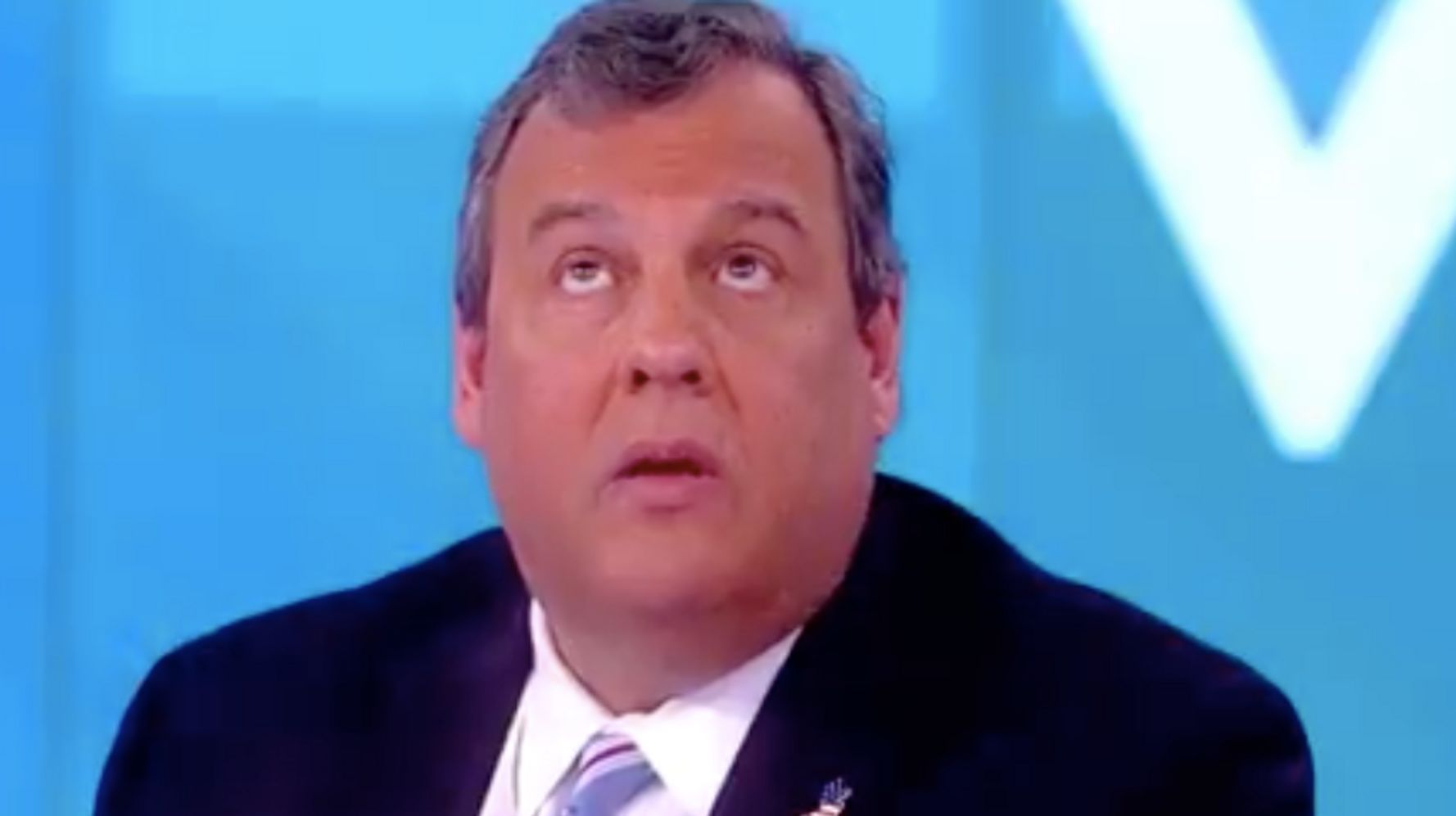 'The View' Host Sunny Hostin Confronts Chris Christie With Blunt Trump Question