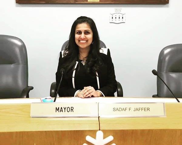 Sadaf Jaffer, a Muslim American woman of Pakistani heritage, is the mayor of Montgomery Township.