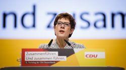 """Interview mit der CDU-Vorsitzenden Annegret Kramp-Karrenbauer: """"Die große Mehrheit will ein vereintes und starkes"""