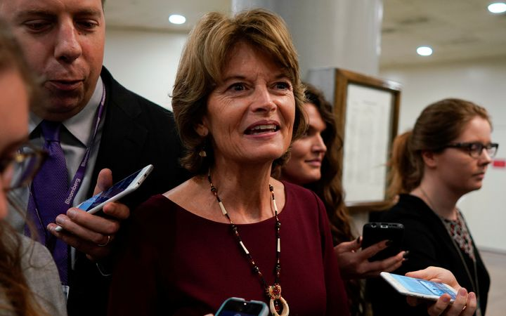 If there's anyone close to being a maverick in the Senate right now, it's Alaska Republican Sen. Lisa Murkowski.