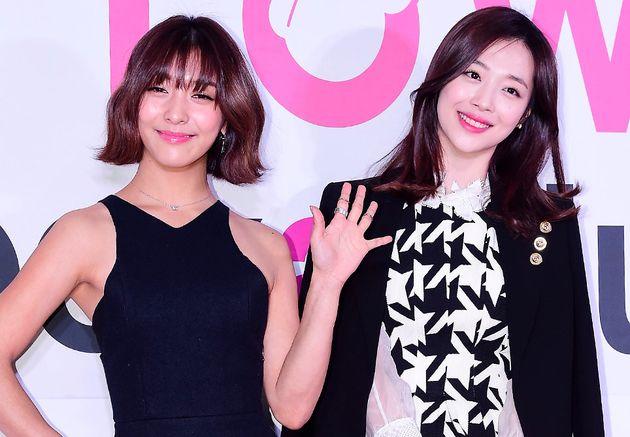 2015년 1월, 서울 삼성동 코엑스에서 열린 '에스엠타운 코엑스 아티움'(SMTOWN@COEXARTIUM) 그랜드 오픈식에 참석한 루나와
