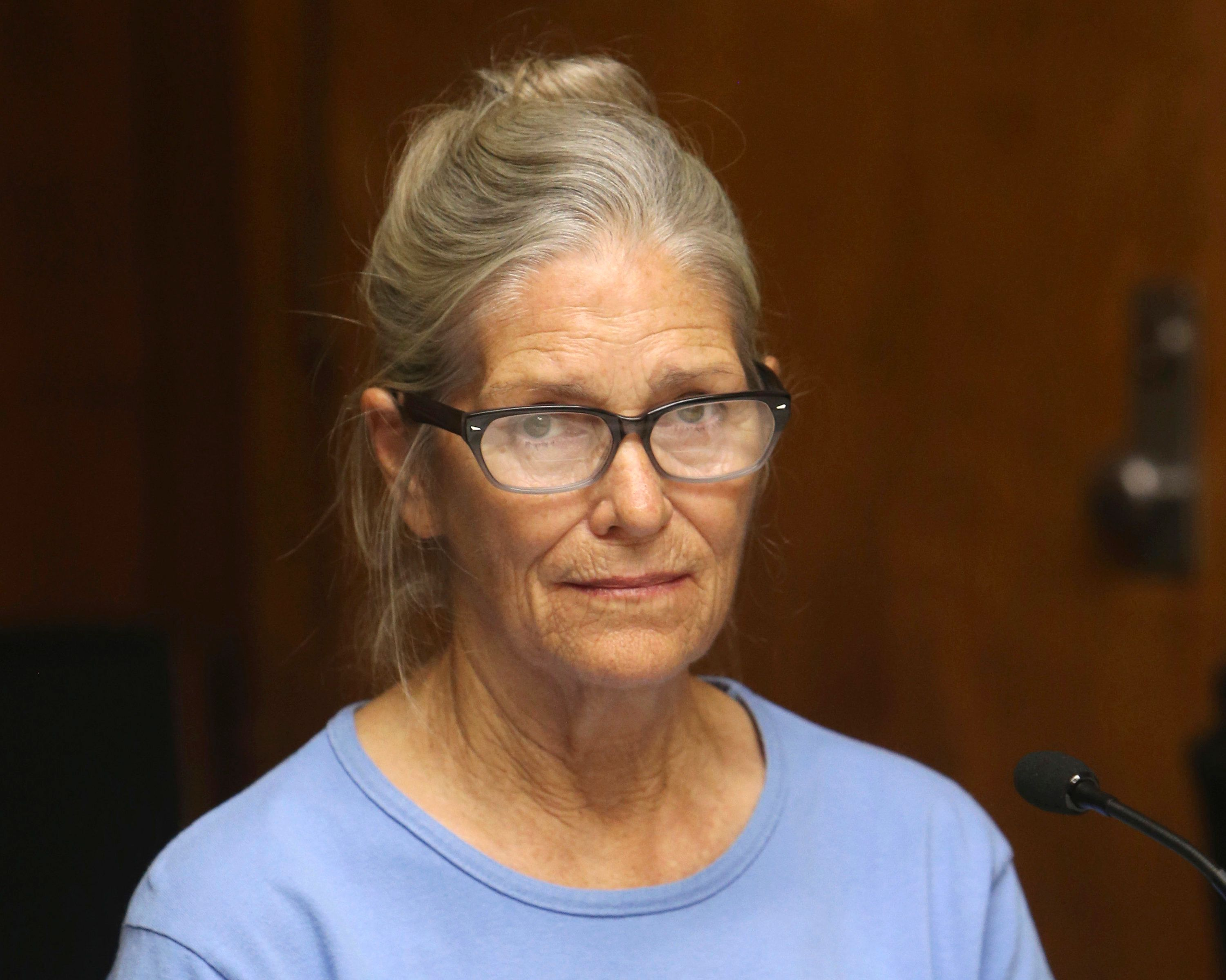 Leslie Van Houten was 19 when she and others in Charles Manson's cult committed numerous murders in 1969.