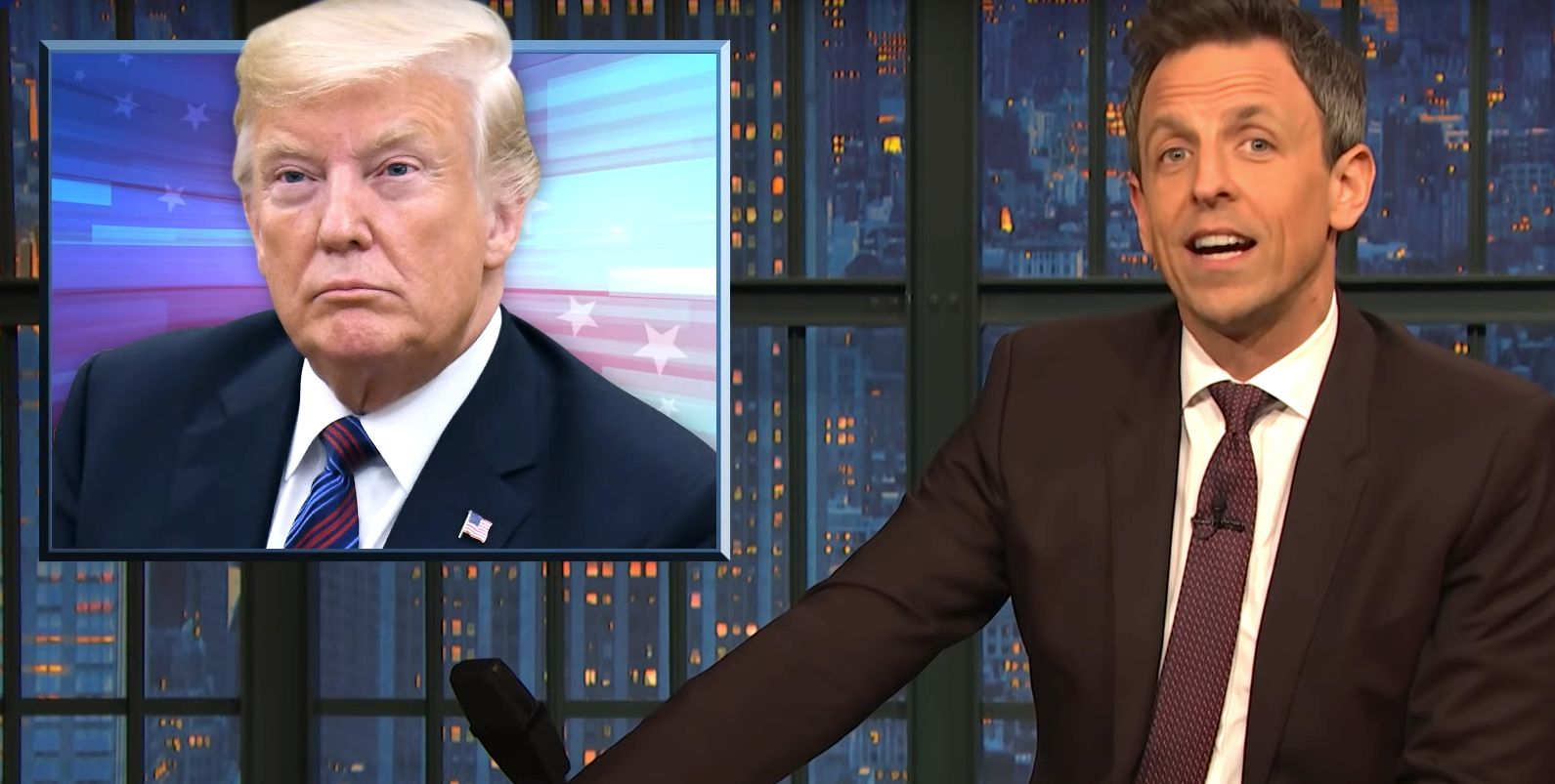 Seth Meyers Explains Why Trump Is A