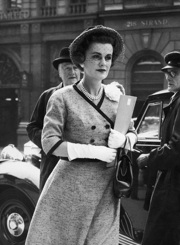 1960, η δούκισσα έξω από το