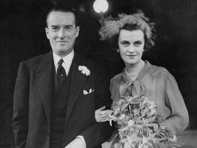 Η Μάργκαρετ με τον σύζυγο...
