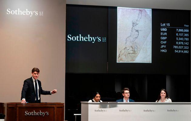 Σκίτσο του Ρούμπενς πωλήθηκε 8.2 εκατ. δολάρια σε