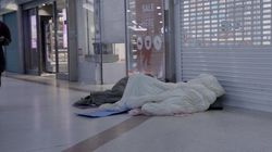Homeless In Britain: Sleeping In A Shopping
