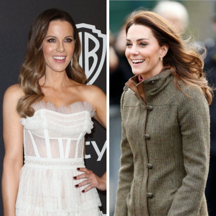 USA Today appeared to confuse Kate Beckinsale (left) with Duchess Kate (right).