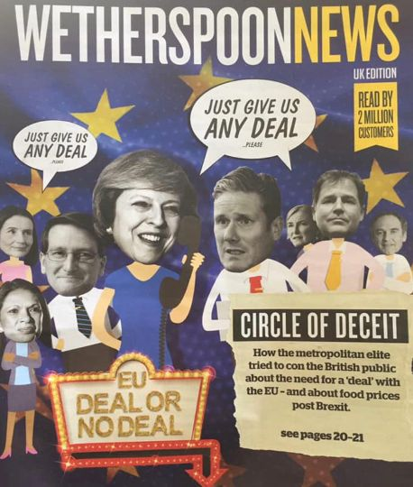 The magazine carried the headline 'Circle of