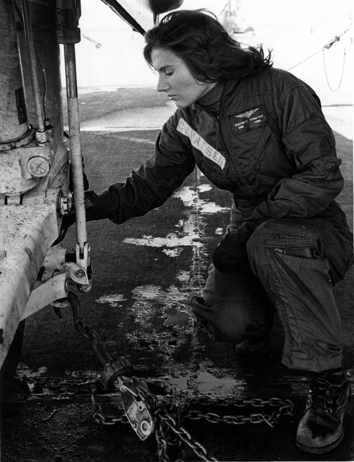 Capt. Rosemary Mariner broke gender barriers and made naval aviation history numerous times in her military career.