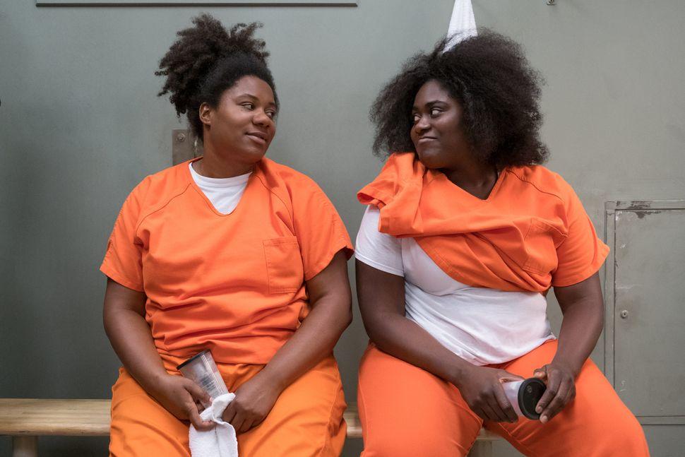 """Brooks (right) plays Tasha """"Taystee"""" Jefferson on the Netflix series """"Orange Is the New Black."""""""