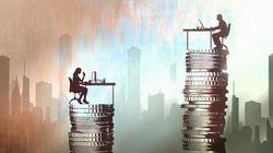 대기업과 중소기업, 남성과 여성의 임금 격차는 더 벌어지고