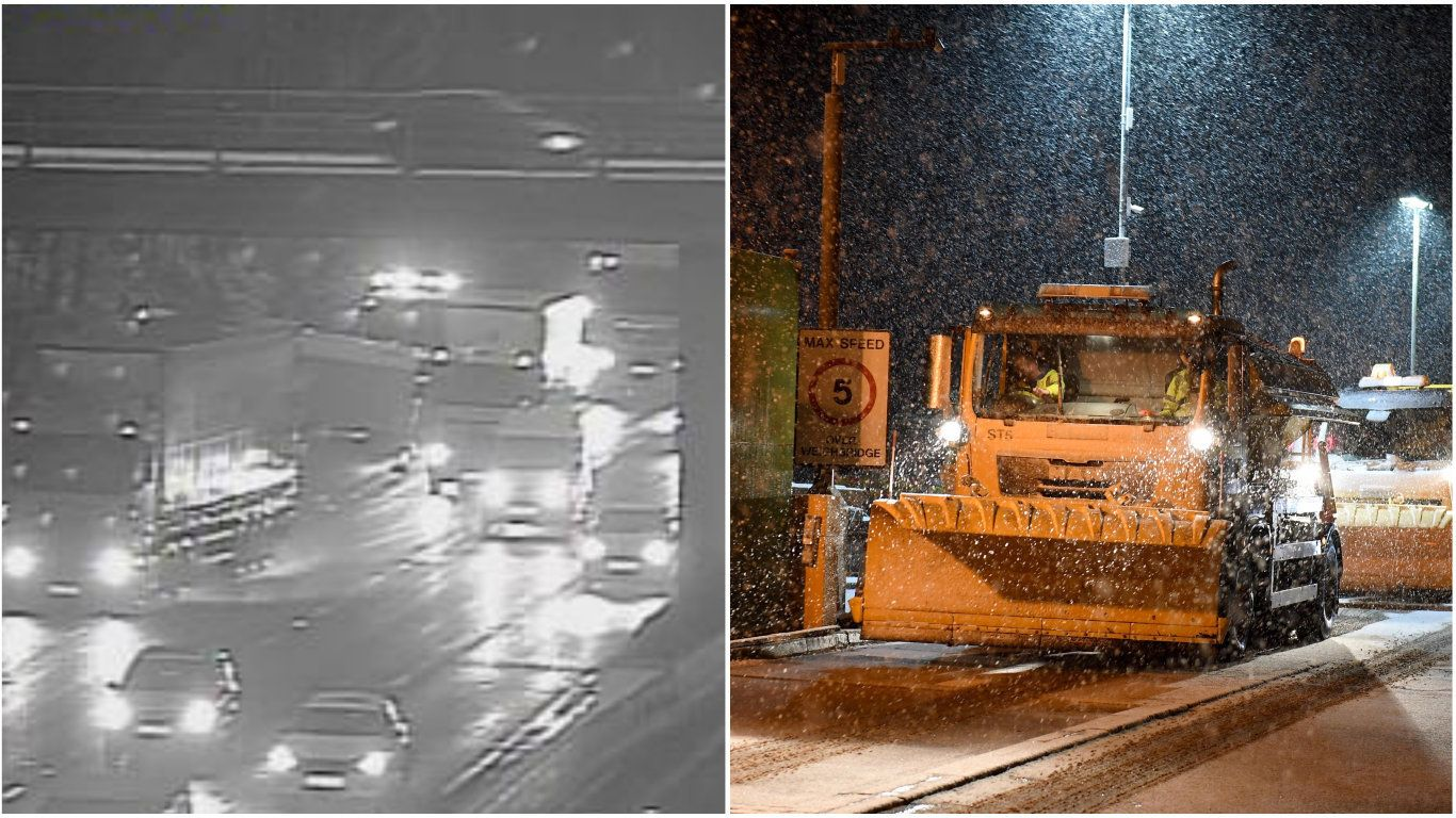 It Was The Coldest Night Since 2012 As Britain Wakes To Snow