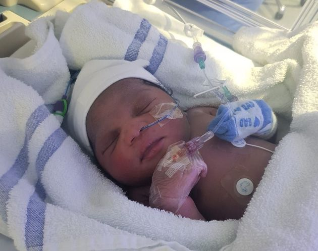 The baby girl was discovered in Newham late on Thursday