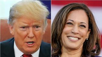 Donald Trump, Kamala Harris