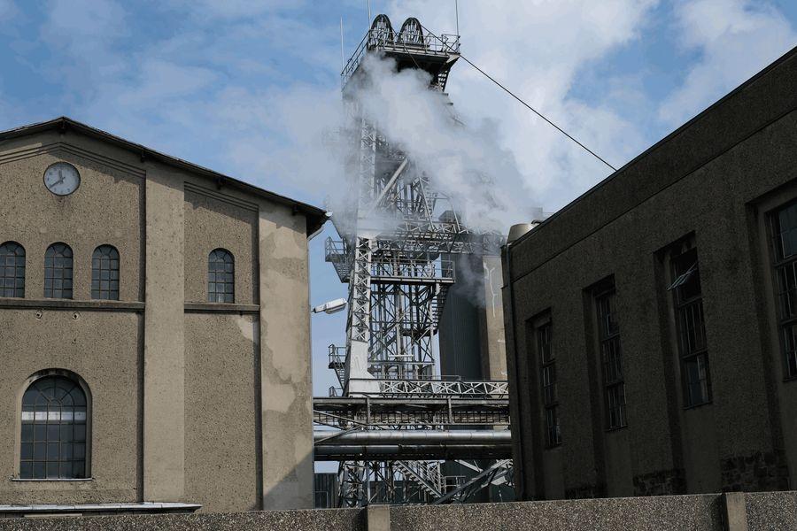Die von-Oeynhausen-Schachtanlage in Ibbenbüren ist der Hauptstandort des inzwischen stillgelegten
