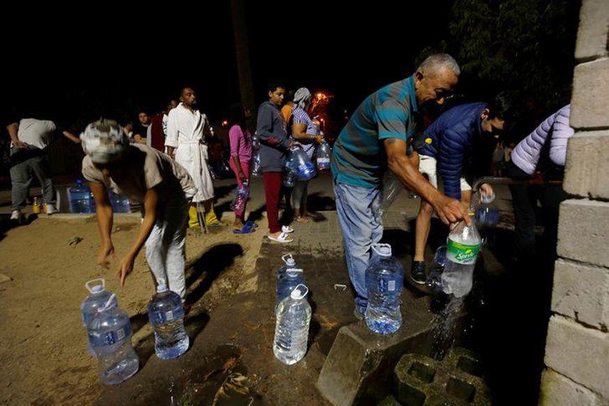 In Kapstadt war 2018 monatelang das Trinkwasser