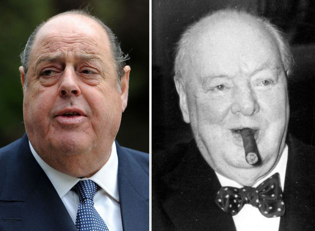 Sir Nicholas Soames, grandson of Winston Churchill, is among those who signed the